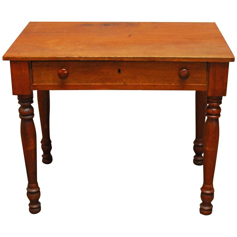 Primitive American Farm Table Desk at 1stdibs