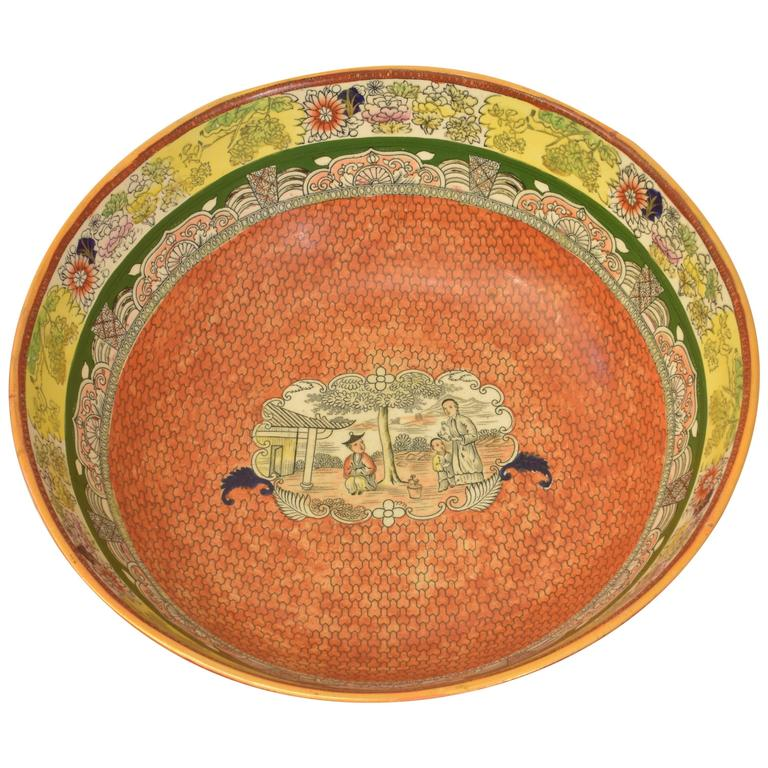 Mason's Ironstone Punchbowl or Centre Bowl