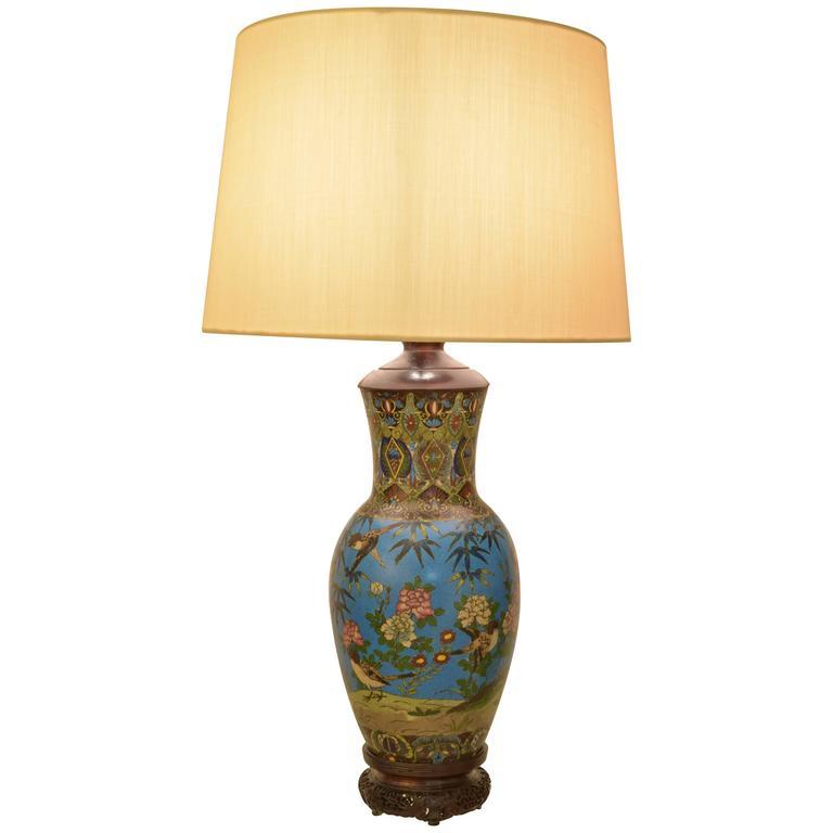 Cloisonné Lamp