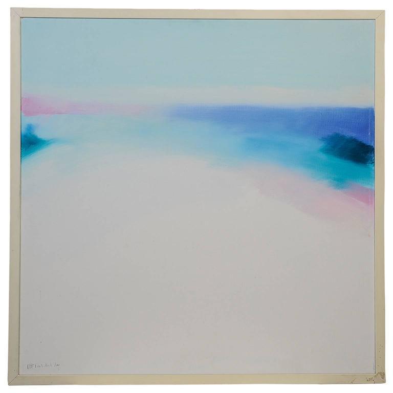 """Mediterranean light"" Painting oil on canvas"