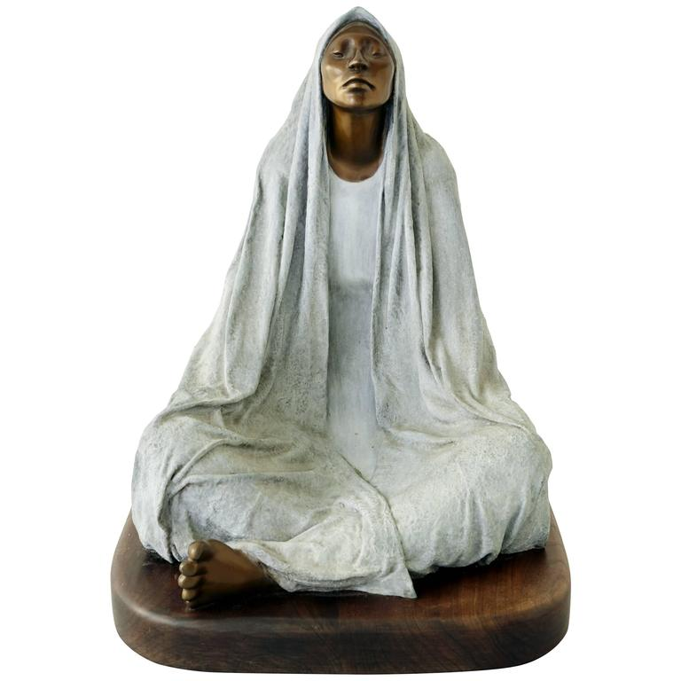 Bronze Statue By Shirley Thomson Smith For Sale At 1stdibs