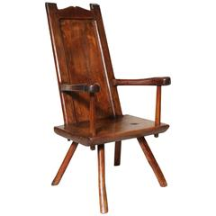 19th Century Famine Chair