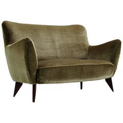 Guglielmo Veronesi Curved Sofa