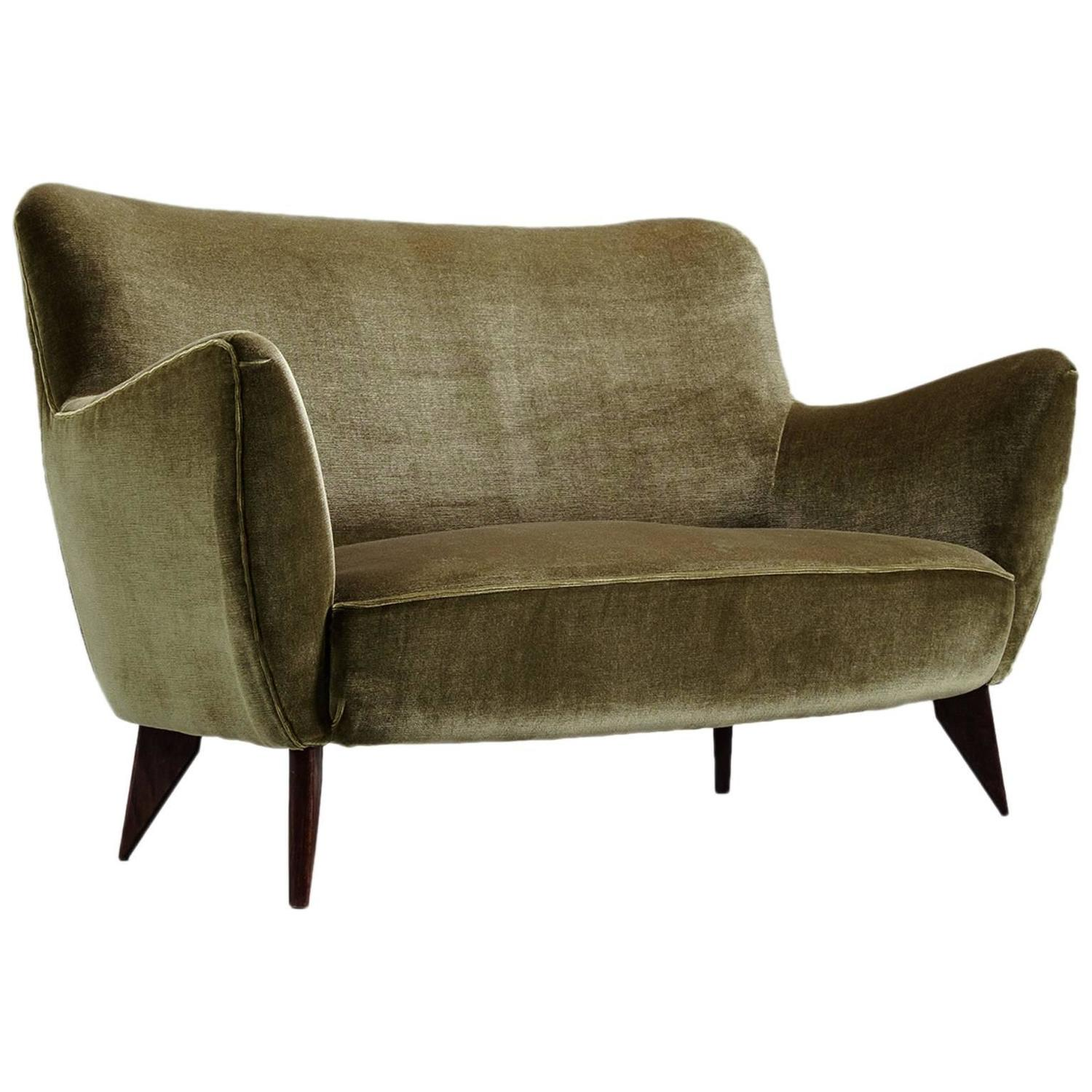 guglielmo veronesi curved sofa for sale at 1stdibs