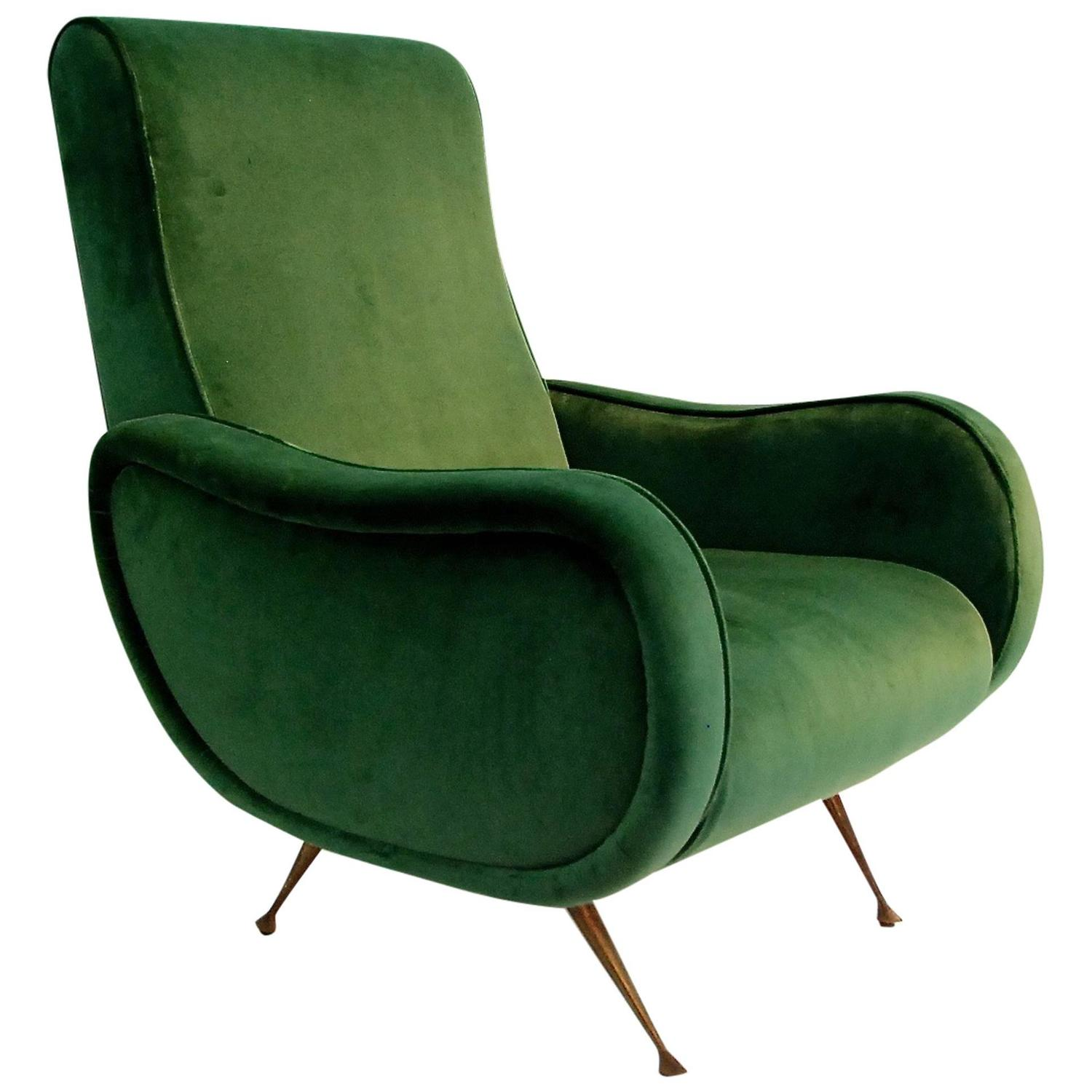 Marco zanuso lady chair at 1stdibs for Chair in italian