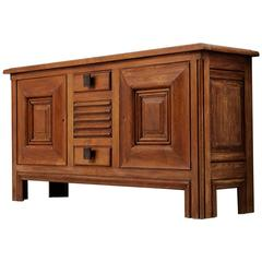 Art Deco Credenza by Charles Dudouyt, 1930s