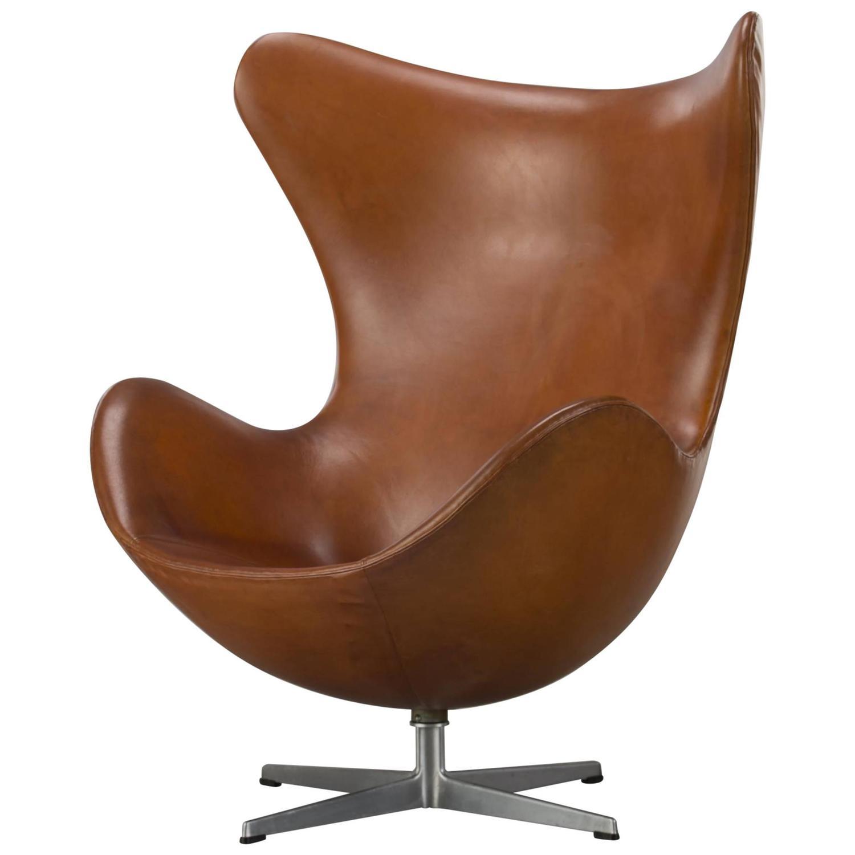 arne jacobsen the egg chair for sale at 1stdibs. Black Bedroom Furniture Sets. Home Design Ideas