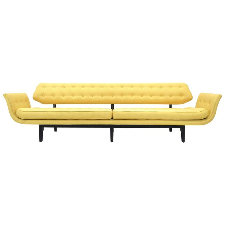 La Gondola Sofa Designed by Edward Wormley for Dunbar, 1957 For Sale