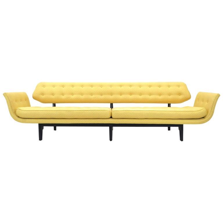 La Gondola Sofa Designed by Edward Wormley for Dunbar, 1957
