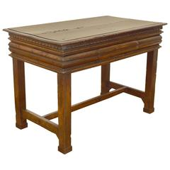 Late 16th / Early 17th Century Florentine Walnut 1-Drawer Table