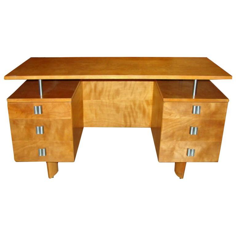 Eliel saarinen modernist desk at 1stdibs for Eliel saarinen furniture