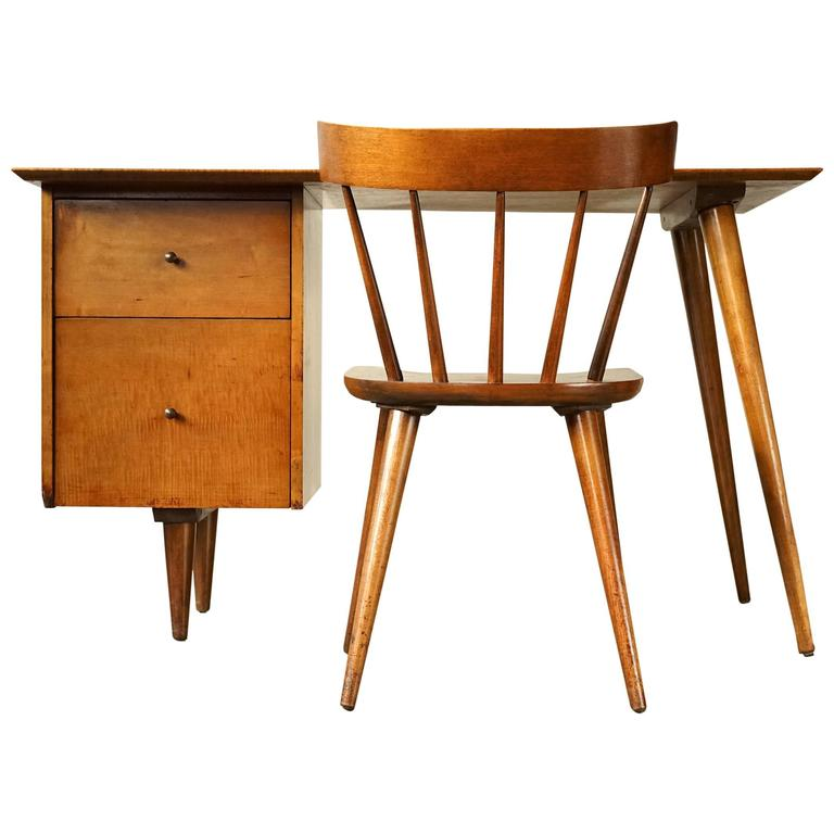 Desk and Chair by Paul McCobb For Sale at 1stdibs