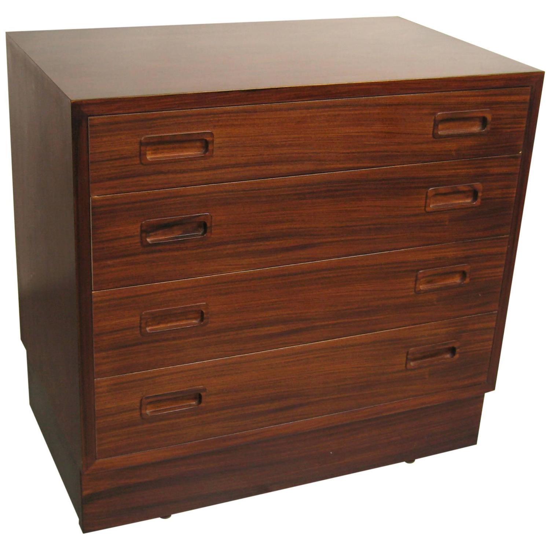 Dresser With Cabinet Poul Hundevad Danish Modern Dresser Midcentury For Sale At 1stdibs