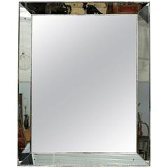 Large Midcentury Venetian Style Mirror