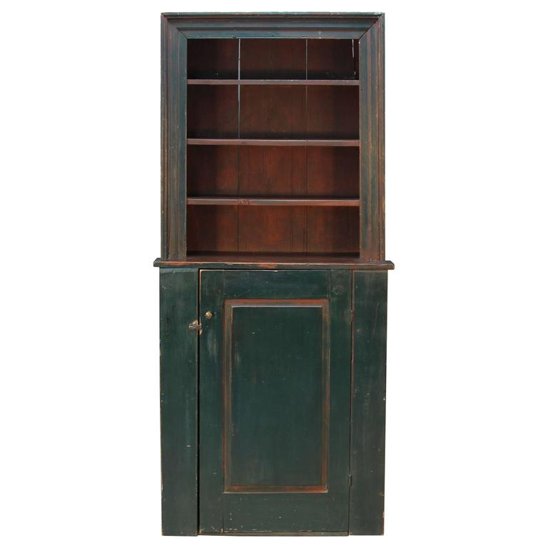 18th Century Stepback Cupboard For Sale