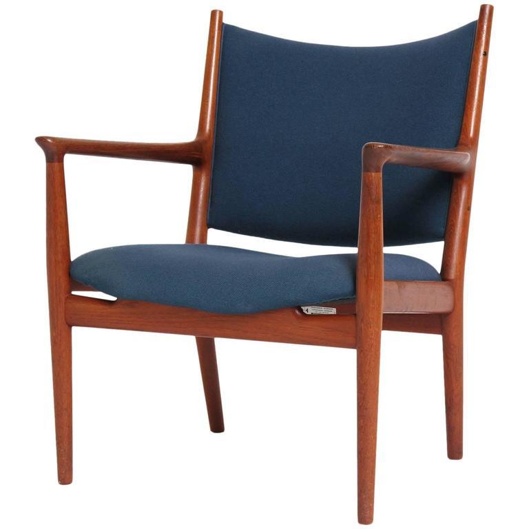 Teak Lounge Chair by Hans J. Wegner