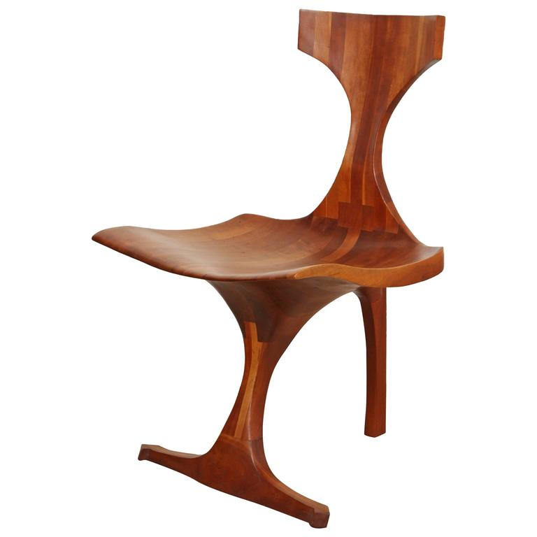 Jack Rogers Hopkins Sculptural Chair at 1stdibs