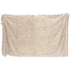 Large Moroccan Wedding Blanket