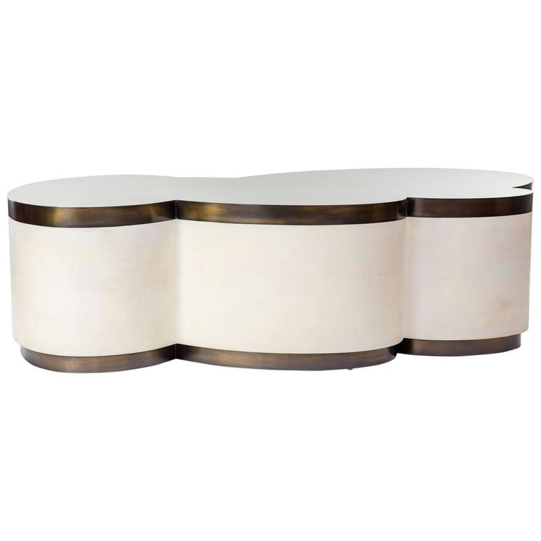 Contemporary Splash Paddle Coffee Table 1