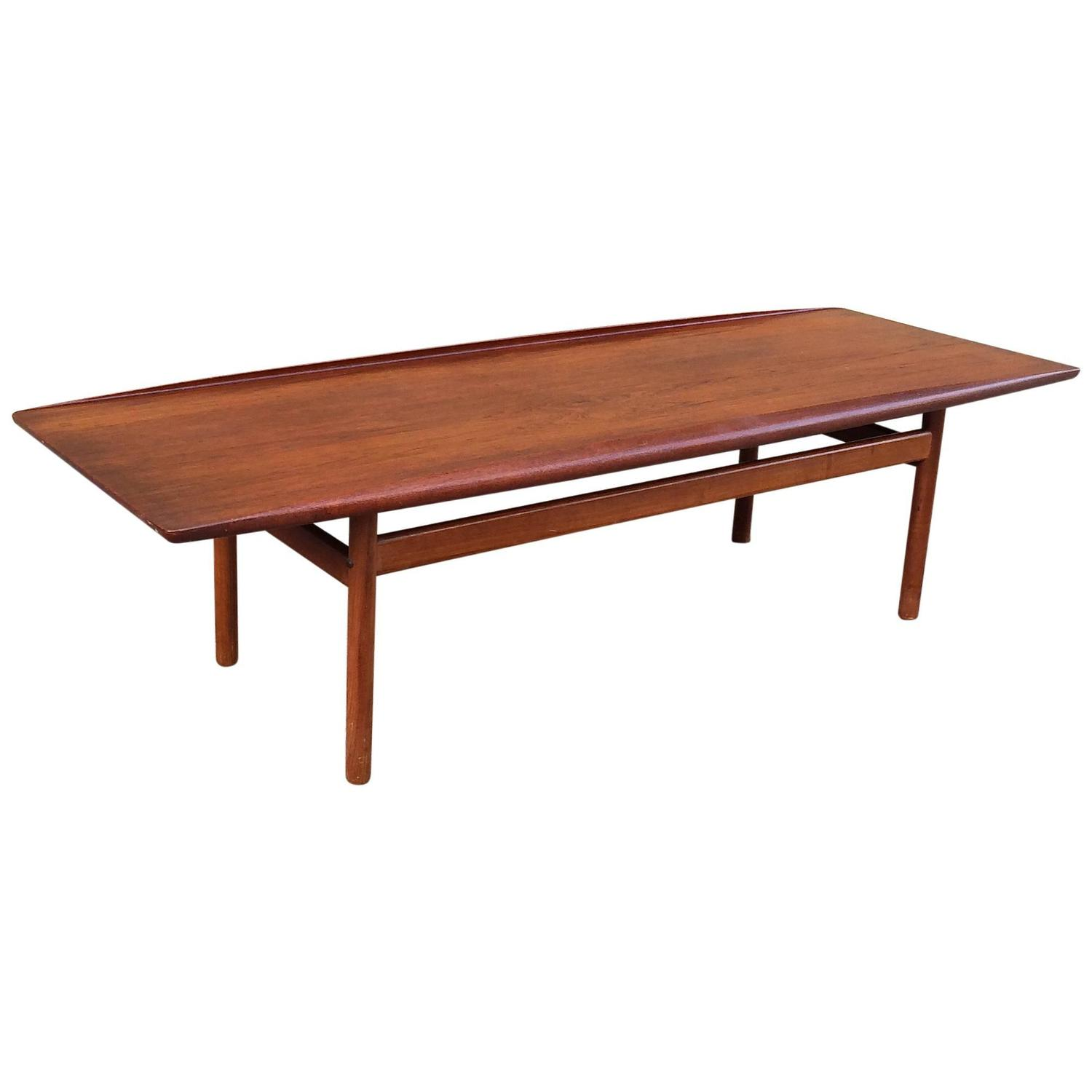Teak Oil Coffee Table: Teak Coffee Table By DUX At 1stdibs