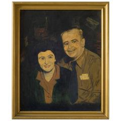 Portrait of an Early Midcentury Couple