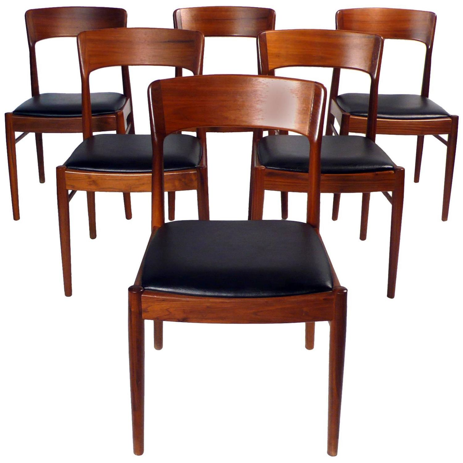 Dining Table With Chairs For Sale: KS Danish Dining Chairs For Sale At 1stdibs