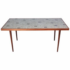 Martz for Marshall Studios Tile-Top Dining Table