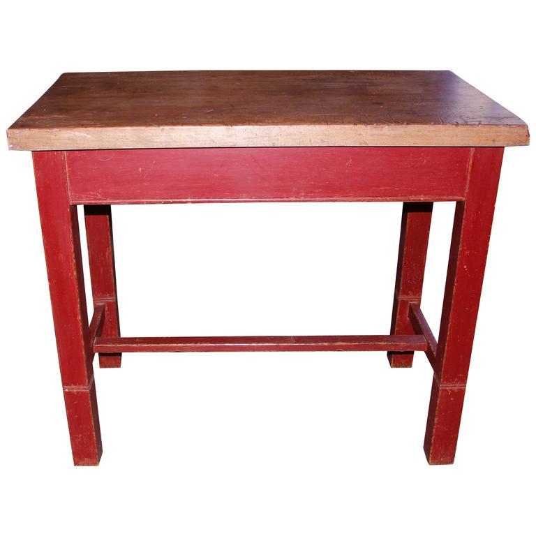 Kitchen Work Table at 1stdibs