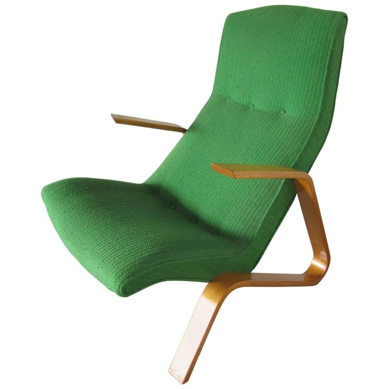 "1960s ""Grasshopper"" Chair by Eero Saarinen for Knoll Mid-Century Modern For Sale"