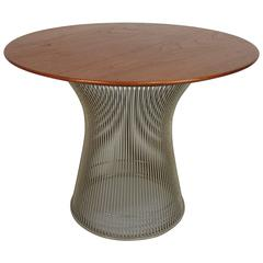 Sculptural Side Table by Warren Platner Table for Knoll, 1970s