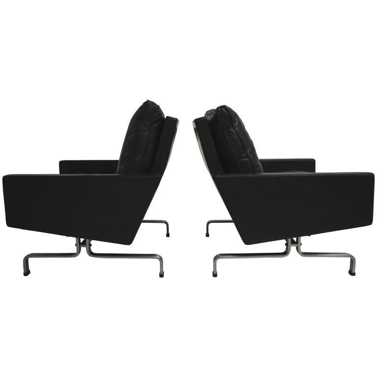 Pair of PK31 Lounge Chairs by Poul Kjaerholm