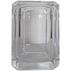 Modern Lucite Ice Bucket or Box