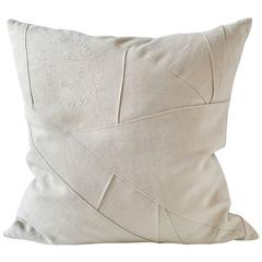 Embroidered Text Pillow, Anaconda