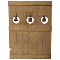 Antique Carnival Bell Game