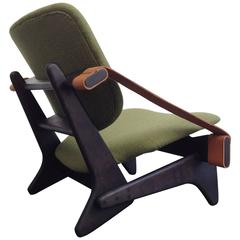 Exceptionally Rare and Beautiful Low Chair in the Style of Noguchi, 1950
