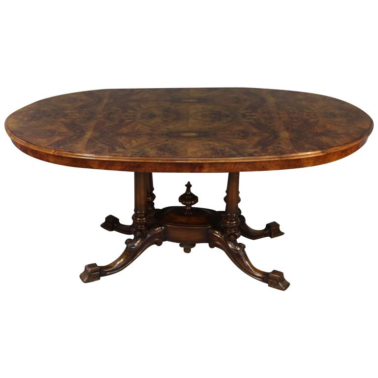 walnut dining room table for sale at 1stdibs