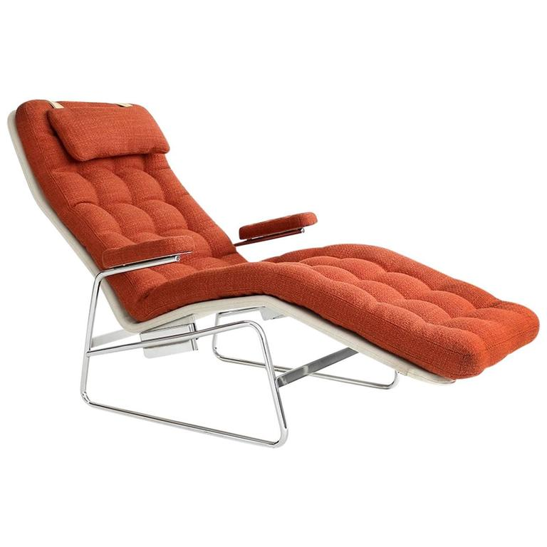 Sam Larsson Fenix Reclining Lounge Chair By Dux At 1stdibs