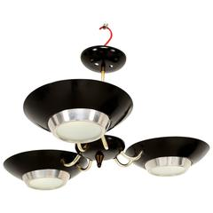 Three-Light Ceiling Fixture