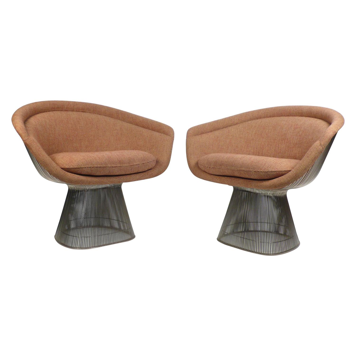 Warren Platner Collection Lounge Chairs At 1stdibs