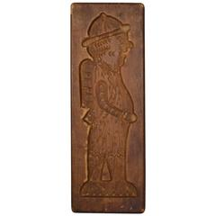 Wooden Gingerbread Mold