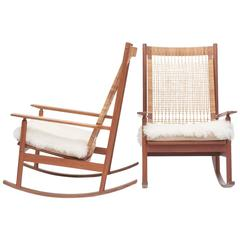 Pair of Hans Olsen Rocking Chairs