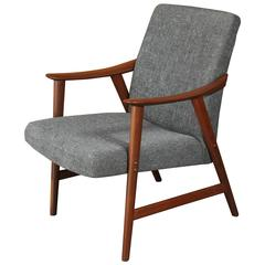 Rare Mid-Century Refinished Chair by Rastad and Relling