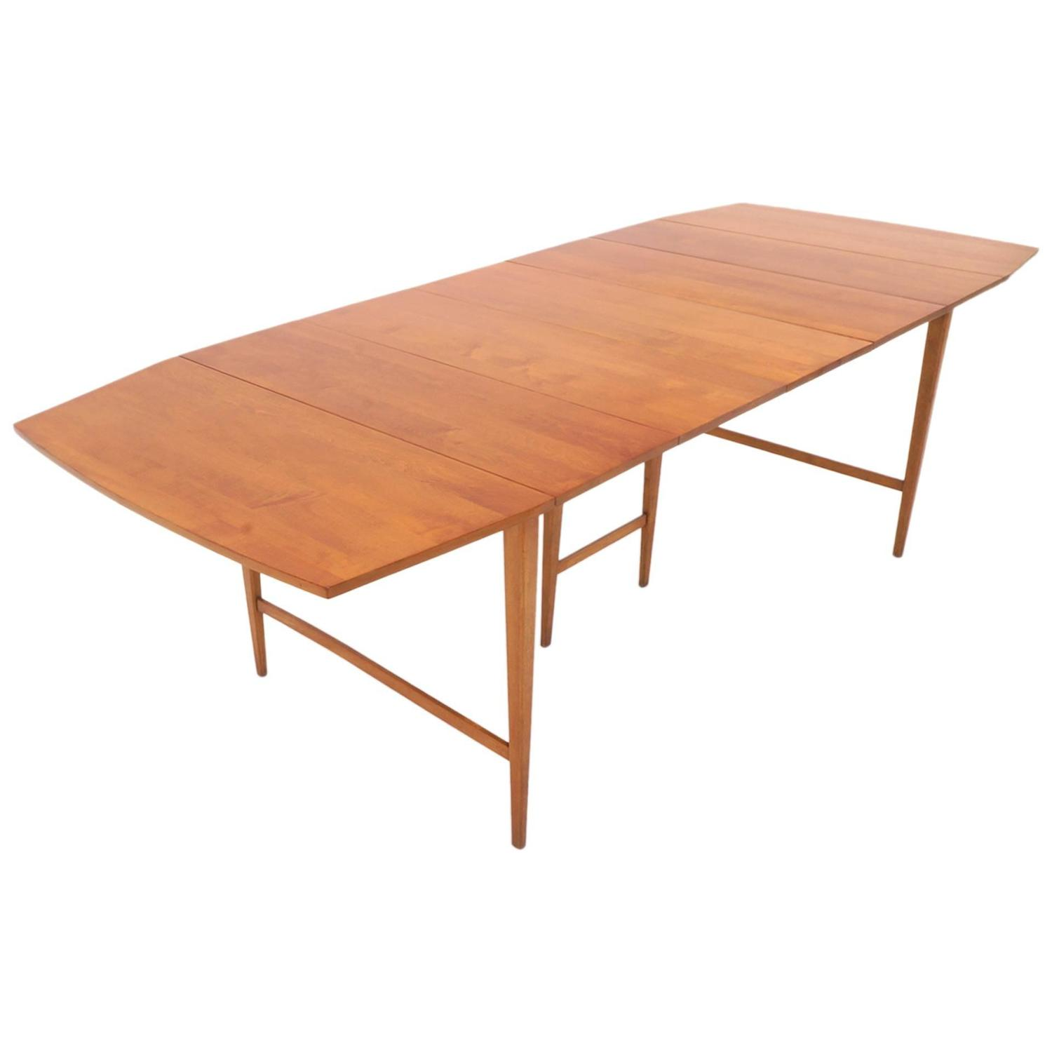 expandable dining table paul mccobb expandable drop leaf dining table for at 11534