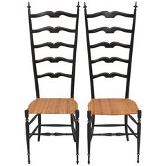 Pair of Italian Chiavari Chairs