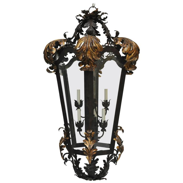 Large-Scale Classic French Style Lantern