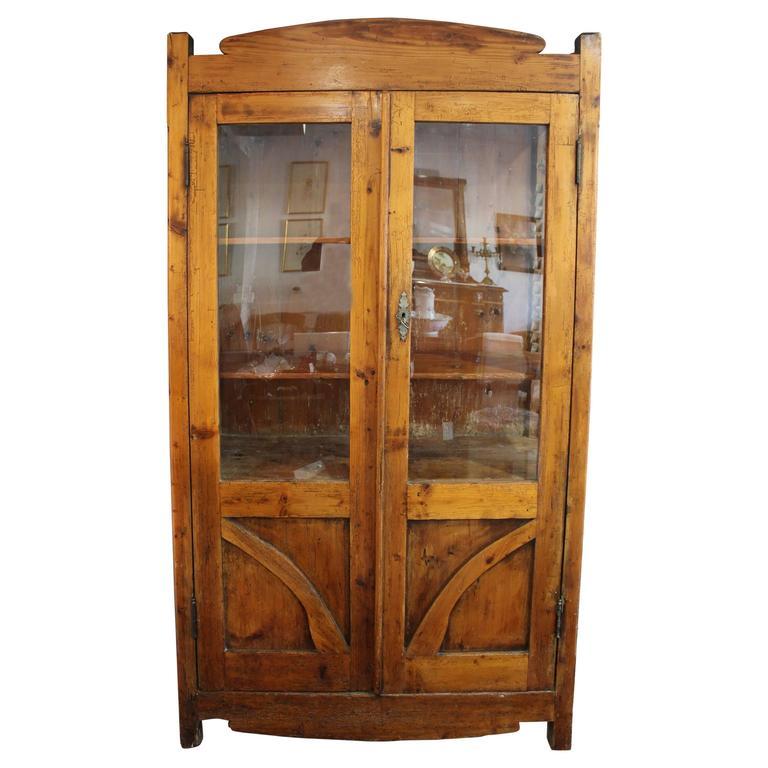 Early 19th Century Italian Provincial Hutch or Cupboard
