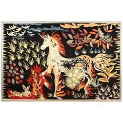 Modernist Tapestry by Jean Picart Le Doux