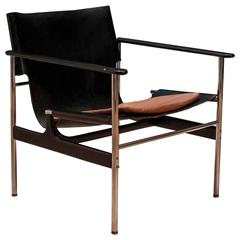 Leather Knoll Pollack Armchair