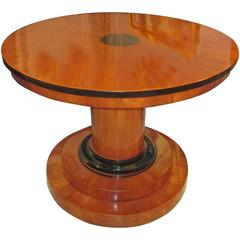 Sculptural Biedermeier Center Table