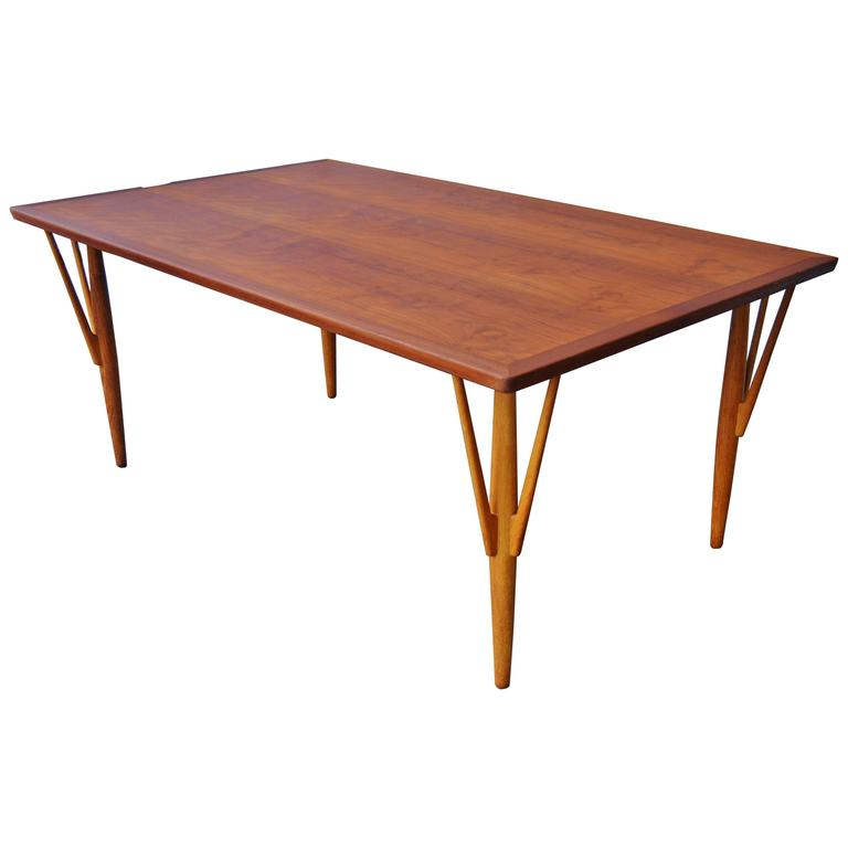 Hans Wegner Teak Dining Table/Desk